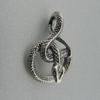 Zilveren Hanger Slang