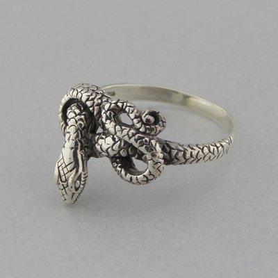 Zilveren Ring Slang