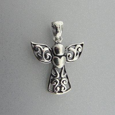 Zilveren Hanger Engel