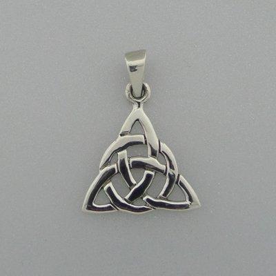 Zilveren Hanger Keltische knoop