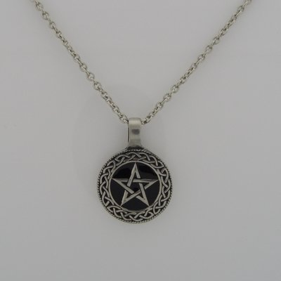 Ketting met Pentagram Tin