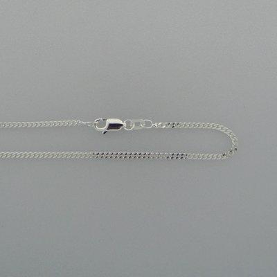 Zilveren Ketting schakel