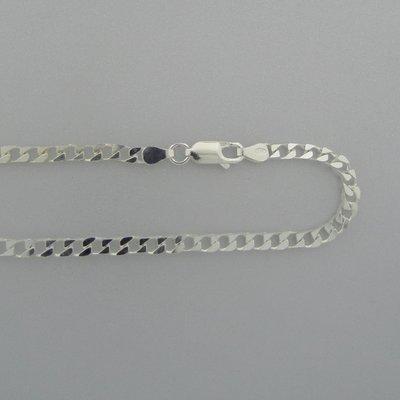 Zilveren Ketting schakel 55 cm