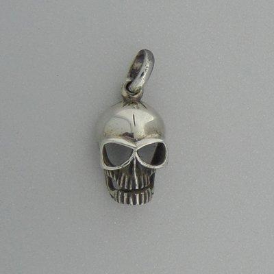 Zilveren Hanger Doodshoofds