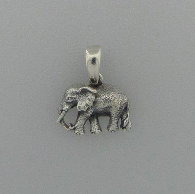 Zilveren Hanger Olifant