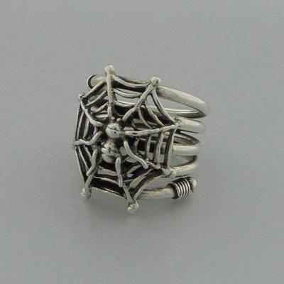 Zilveren Ring Spin