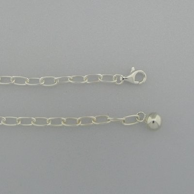 Zilveren Ketting 45 cm