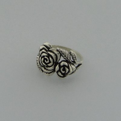 Zilveren Ring Roosjes