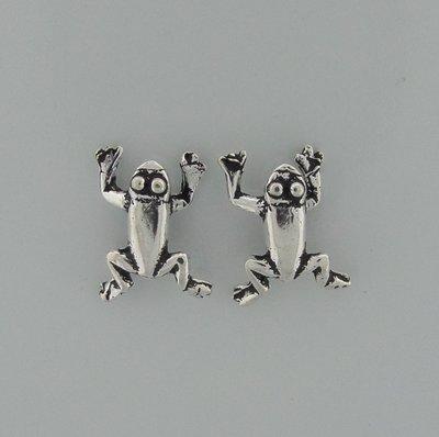 Zilveren Oorstekers Kikkers