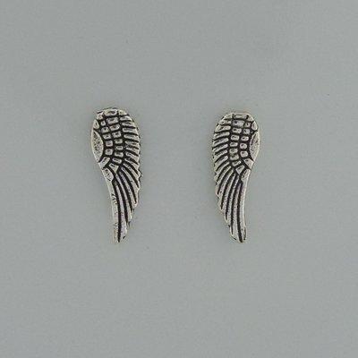 Zilveren Oorstekers Vleugels