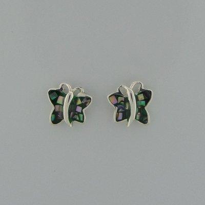 Zilveren Oorstekers Vlinder Parelmoer
