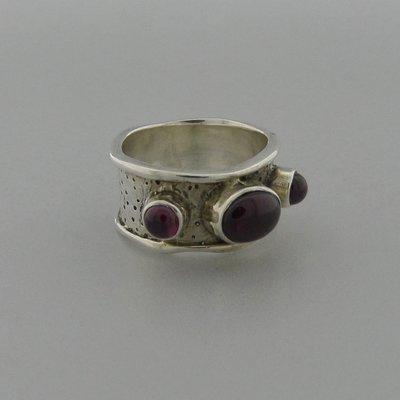 Zilveren Ring Carneool