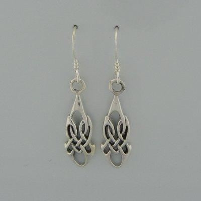 Zilveren Oorbel Keltisch