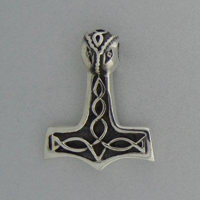 Zilveren Hanger Hamer van Thorn