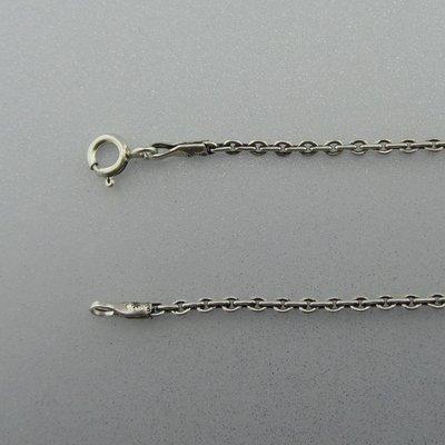 Zilveren Ketting Anker 45 cm