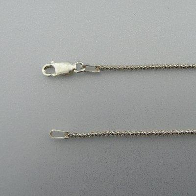Zilveren Ketting 42 cm