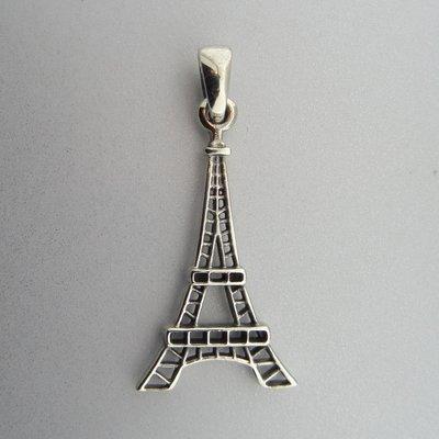 Zilveren Hanger Eiffeltoren