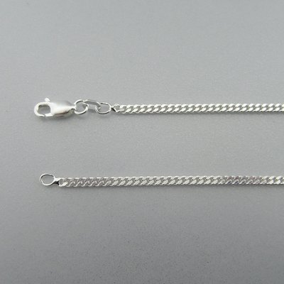 Zilveren Ketting Gourmet 70 cm