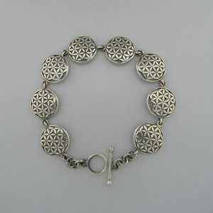 Zilveren Armband Flower of Life
