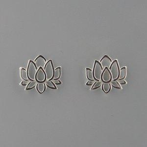 Zilveren Oorstekers Lotus