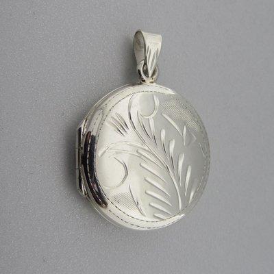 Zilveren Hanger Medaillon