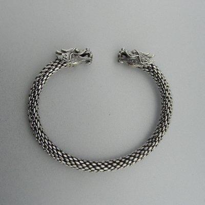 Zilveren Armband Draken