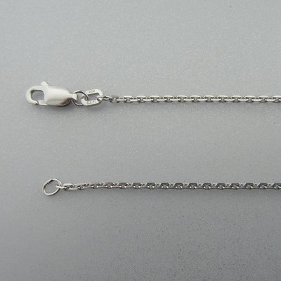 Zilveren Ketting Anker 42 cm