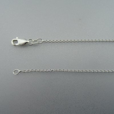 Zilveren Ketting  60 cm