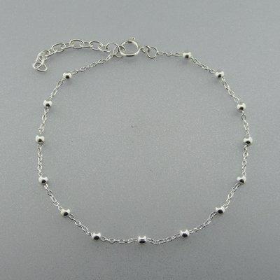 Zilveren Armband Bolletjes