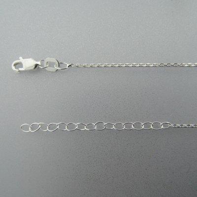 Zilveren Ketting Anker 41 cm - 45 cm