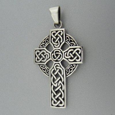 Zilveren Hanger Keltisch Kruis