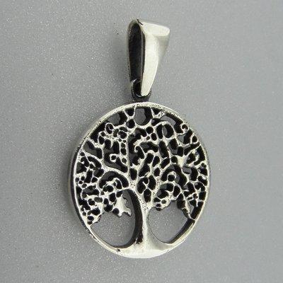 Zilveren Hanger Levensboom
