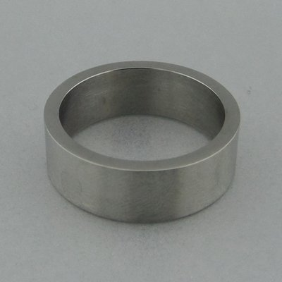 Edelstaal Ring Glad