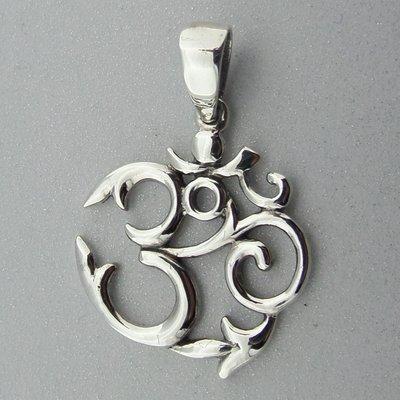 Zilveren Hanger Ohm
