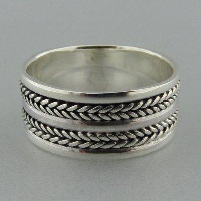 Zilveren Band Ring