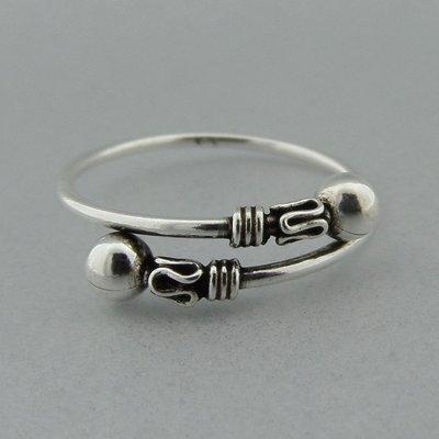 Zilveren Bail Ring