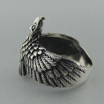 Zilveren Ring Adelaar