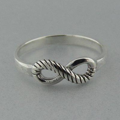 Zilveren Ring Infinity