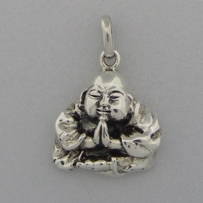 Zilveren Hanger  Boeddha