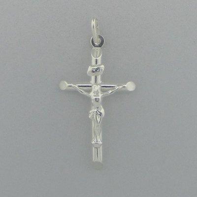 Zilveren Hanger Crucifix