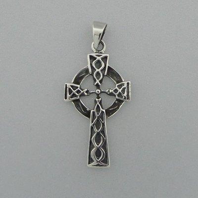 Zilveren Hanger Keltische Kruis
