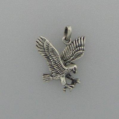 Zilveren Hanger Adelaar