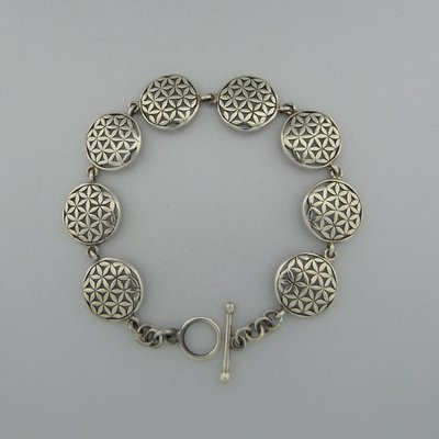 Zilveren Armband Flower of Life