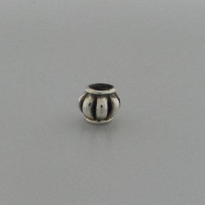 Zilveren Biba Beads Kraal