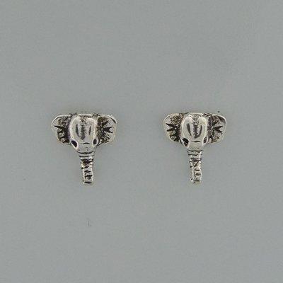 Zilveren Oorstekers Olifantenkop