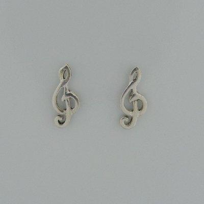 Zilveren Oorstekers Muziek sleutel