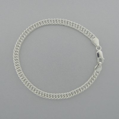 Zilveren Armband Schakel 19,5 cm