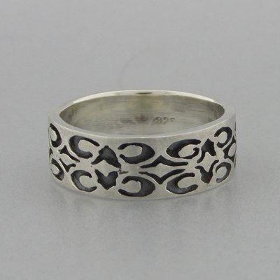 Zilveren Bandring