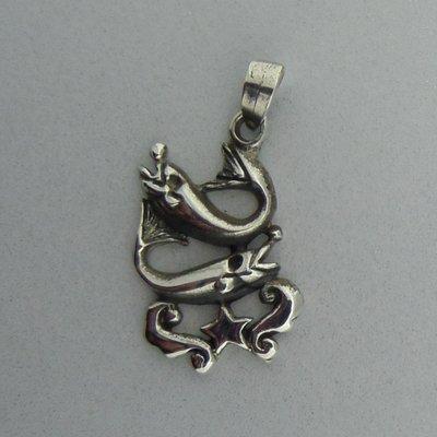 Zilveren Hanger Horoscoop Vissen